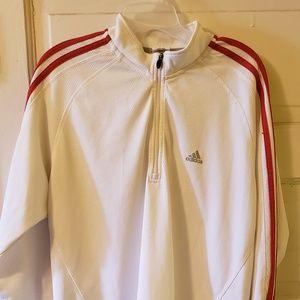 Adidas Vintage white sweater
